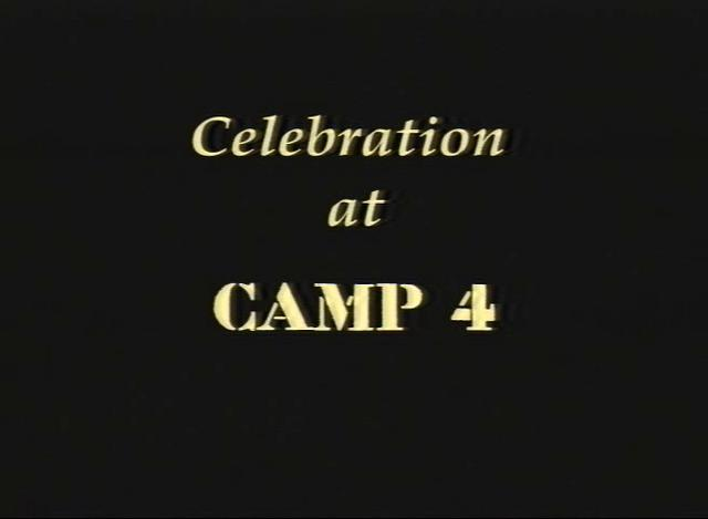 Celebration at Camp 4